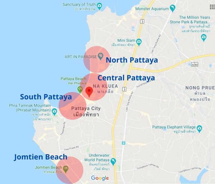 Best Places To Stay in Pattaya