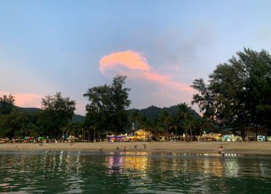 Kamala Beach Phuket in Evening